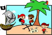 Kindergeburtstag Schnitzeljagd Piraten