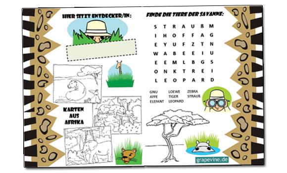 Zirkus   Kindergeburtstag   Grapevine.de