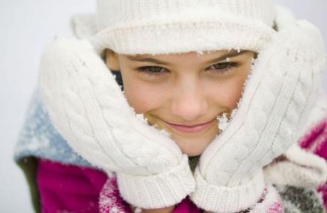 schnelle schnitzeljagd für kinder im schnee