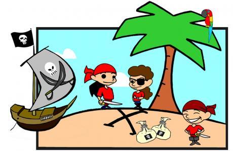 piraten kindergeburtstag mit schatzsuche