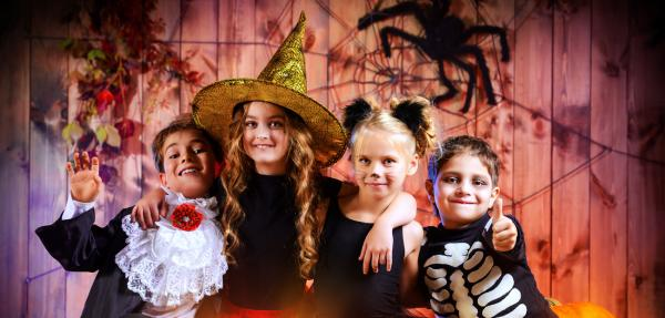 halloweenparty kinder