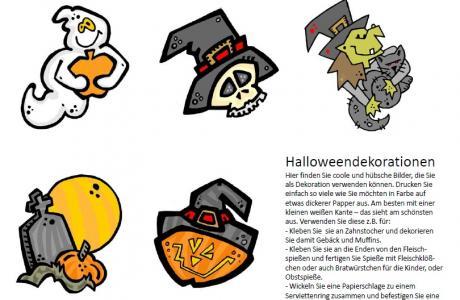 halloween bastelvorlagen