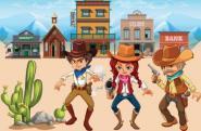 geburtstag Cowboy und Indianer