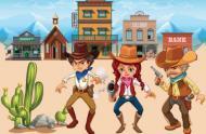Cowboy und Indianer geburtstag