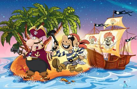 kindergeburtstag mit piraten schatzsuche