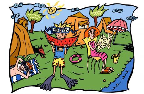 7. kindergeburtstag mit Schnitzeljagt