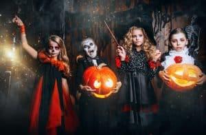 schatzsuche halloween 8-12 Jahre