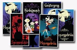 flaschenetiketten ausdrucken halloween