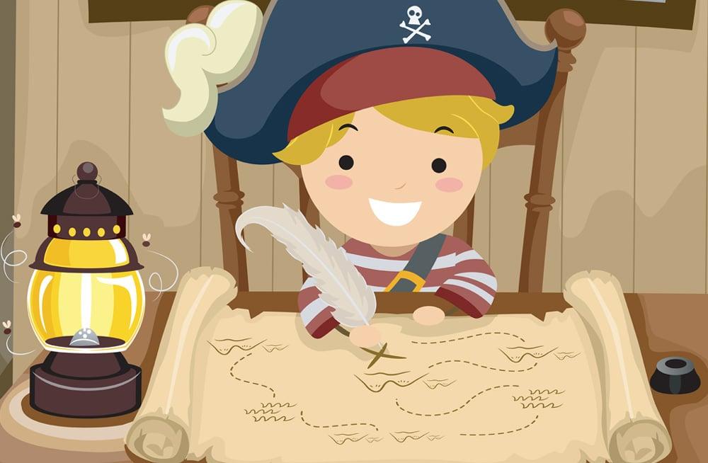schatzsuche piraten