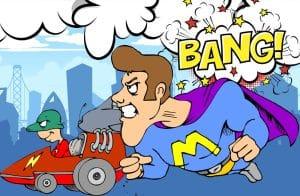 superheldenparty